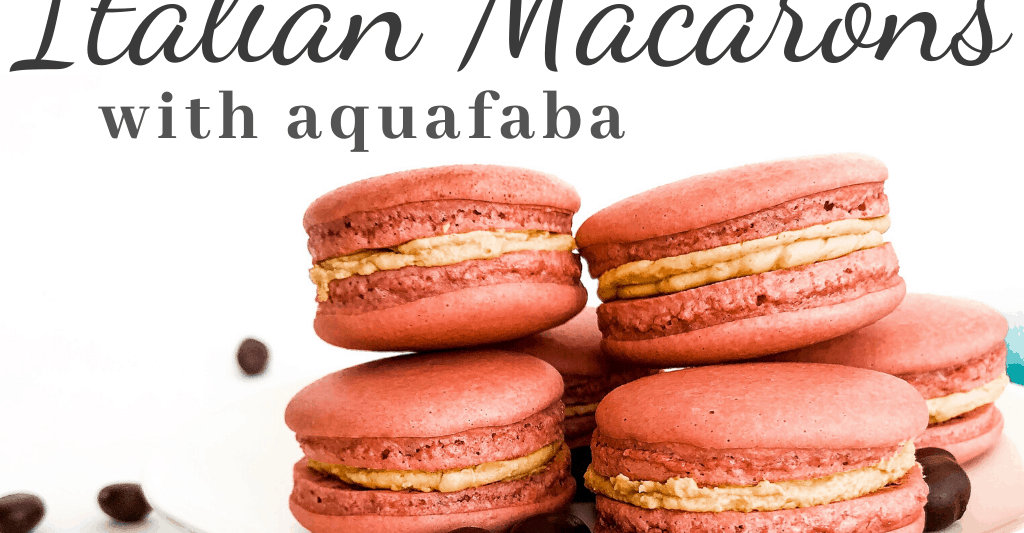 Italian macaron cover photo