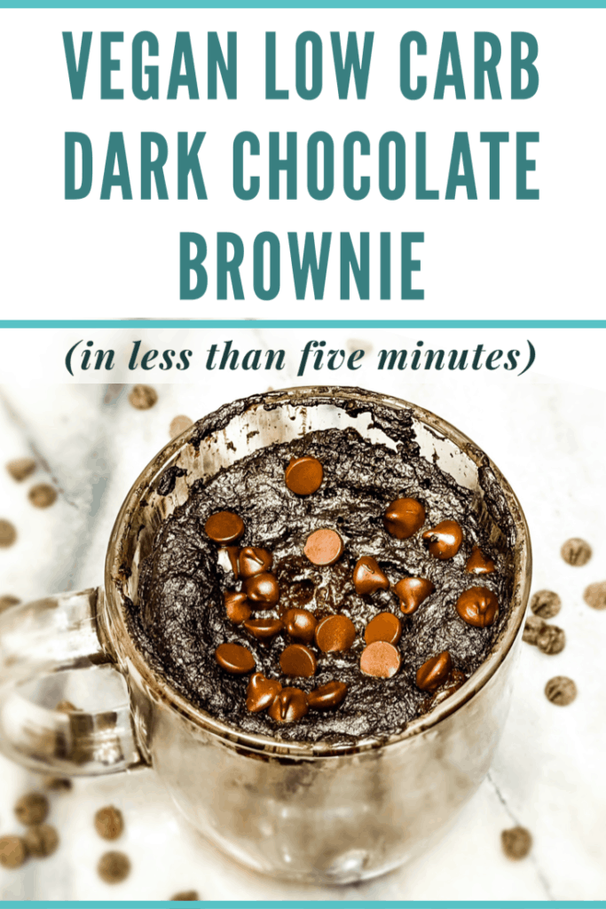 low carb brownie pin