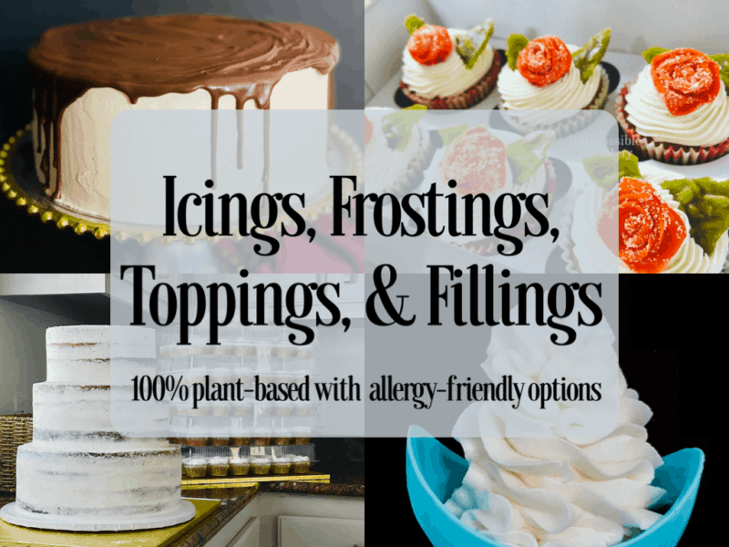 Icings, Frostings, Toppings, & Fillings Cover Photo