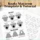 Koala Macaron Template cover photo