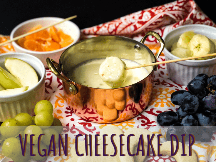 Vegan Cheesecake Dip